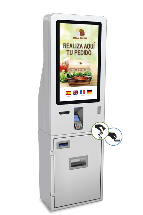 Cajón automático de cobro CashDro5